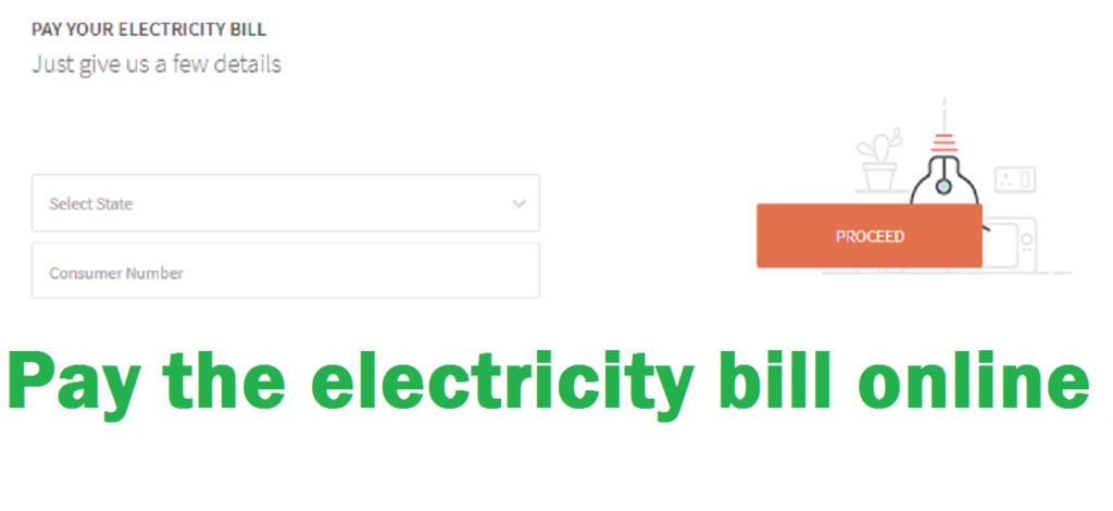 pay online light bill